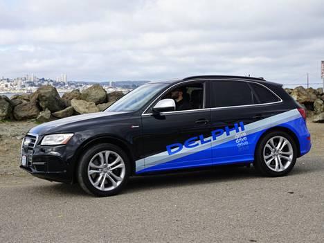 Delphin robotti-Audi ajoi juuri onnistuneesti halki Yhdysvaltojen.