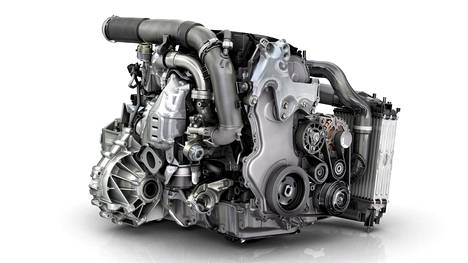 Kuvassa Euro 6 -päästönormin täyttävä Renaultin tuplaturbodiesel.
