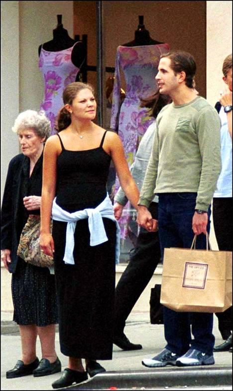 Kruununprinsessa Victoria ja Daniel Collert yhdessä New Yorkissa.