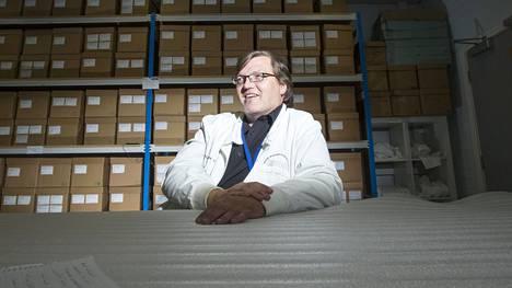 Dna-tutkija Jari Louhelainen on asunut Britanniassa vuodesta 2000.