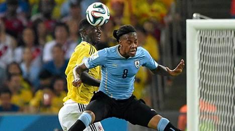Abel Hernandez pelasi Uruguayn joukkueessa kesän MM-lopputurnauksessa.