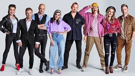 Arja Koriseva, Ressu Redford, Herra Ylppö, Jannika B, Vesku Jokinen, Stig, Mariska ja Reino Nordin tähdittävät Vain elämää -suosikkisarjan 11. tuotantokautta.
