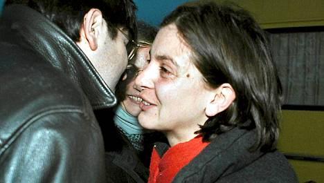 Ranskalaistoimittaja Anne Nivat karkotettiin Venäjältä ennen viime presidentinvaaleja. Kuva on vuodelta 2000.