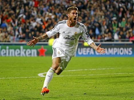Ramos tuuletti osumaansa raivoisasti.