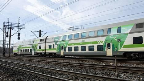 Tartunnan saanut henkilö matkusti Helsingistä 2. elokuuta lähteneellä junalla. Kuvituskuva.