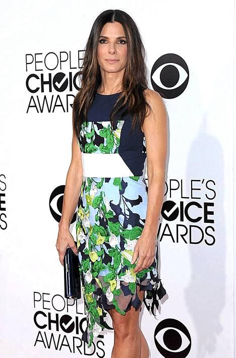 Sandra Bullock oli gaalan voittaja.