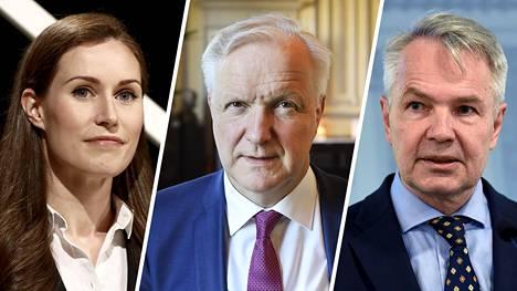 Kansalaisten suosikeiksi nousivat Sanna Marin (sd), Olli Rehn (kesk) ja Pekka Haavisto (vihr). Vielä on epäselvää, ketkä heistä asettuvat ehdolle, vai asettuuko yksikään.