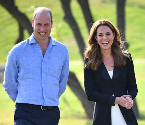 William ja Catherine ovat olleet kiireisiä koronavirustilanteesta huolimatta.