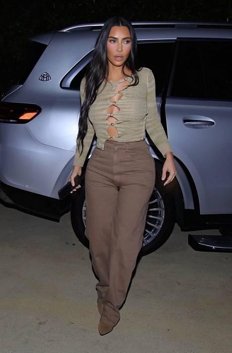 Kim Kardashian on yksi tunnetuin Kardashianin perheen henkilö.