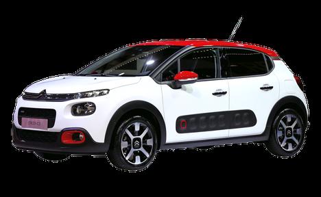 Oman auton personointi yksilöllisemmäksi jatkuu vahvana suuntauksena. Väri- ja materiaali valinnoin voi ilmentää niin omia mieltymyksiään kuin arvomaailmaansakin. Kuvassa uuden Citroën C3:n repertuaaria.