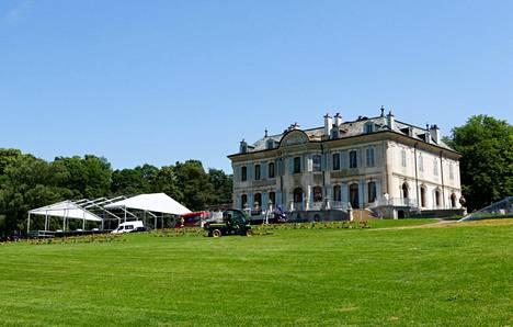 Bidenin ja Putinin huippukokouksen pitopaikkana on Villa La Grande huvila Genevessä, Sveitsissä.