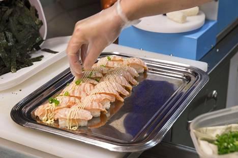 Sushin suosio on noussut Suomessa reippaasti viime vuosina.