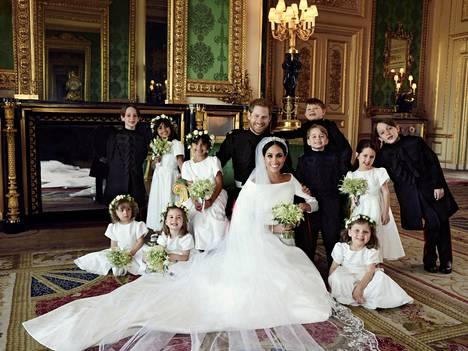 Prinssi Harry ja Meghan avioituivat 19. toukokuuta.