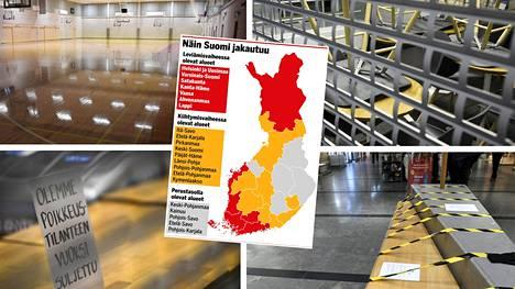 Etelä-Suomen aluehallintovirasto on kertonut, että yksityiset tilat suljetaan ainakin pääkaupunkiseudulla eli Helsingissä, Espoossa ja Vantaalla ensi viikon alusta.