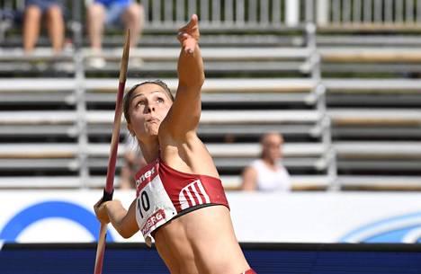 Maria Huntington meinasi jäädä rannalle EM-kisoista Urheiluliiton virheen takia.