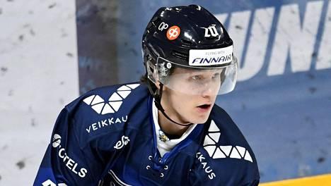 Patrik Puistola edusti Suomea alle 20-vuotiaiden maajoukkueturnauksessa marraskuun alussa.