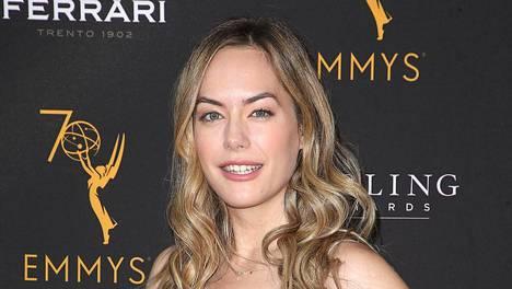 Annika Noelle on näytellyt vuoden ajan Kauniissa ja rohkeat -sarjassa.