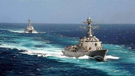 Yhdysvaltojen laivasto osallistuu kadonneen malesialaiskoneen laajennettuihin etsintöihin Intian valtamerelle.