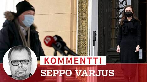 Kahden kuukauden lykkäys ei muuta sitä, että kuntavaalien taistelupari ovat Jussi Halla-ahon perussuomalaiset ja Sanna Marinin demarit.