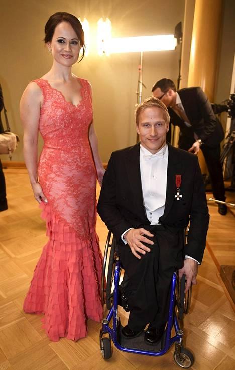 Leo-Pekka Tähti ja Sandra Tähti.