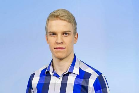 Joonas Koskela on toiminut Ylen meteorologina vuodesta 2013 asti.