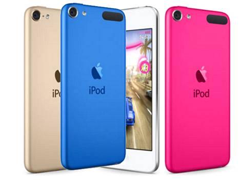 IPod Touchin värivalikoima kasvoi.