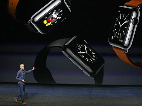 Jeff Williams julkisti Apple Watchin