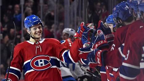 Jesperi Kotkaniemen edustama Montreal Canadiens pelaa kotiottelunsa Quebecissa.