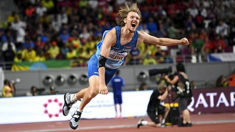 Lassi Etelätalo yllätti kaikki ja oli Dohan MM-kisojen paras suomalainen.