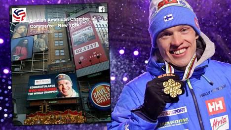 Iivo Niskanen saavutti Lahden MM-kisoista kultaa ja -pronssia.