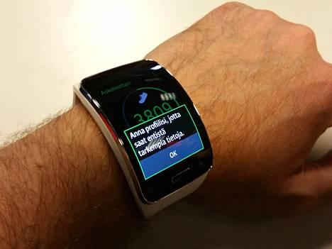 Jotta liikuntaseuranta onnistuu paremmin, haluaa kello tietää ikäsi päivän tarkkuudella.