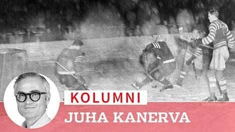 Moni jatkosodan aikana jääkiekko-oppinsa saanut pelaaja oli mukana SM-sarjan otteluissa talvella 1952.
