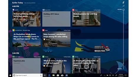 Windows 10:n Timeline-toiminto laajenee Android- ja iOS-käyttöjärjestelmiin.
