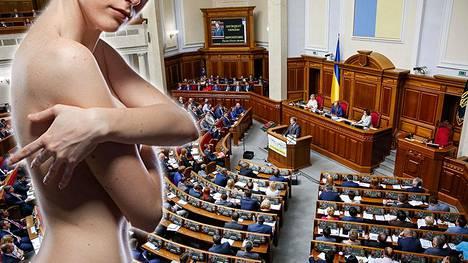 Ukrainassa ja maan hallituksessa on noussut kohu ministerin topless-kuvista. Kuvituskuvan nainen ei liity tapaukseen.