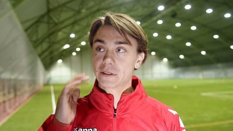 HIFK:n tuore värväys Pekka Sihvola.
