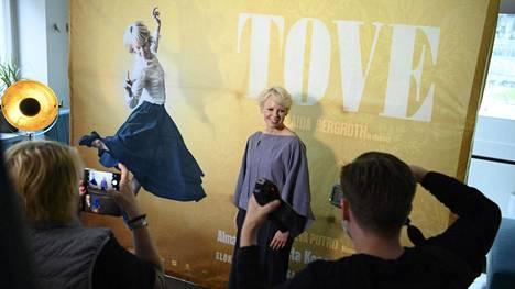 Tove-elokuvassa pääosaa esittävä Alma Pöysti on ehdolla parhaan naispääosan kategoriassa.