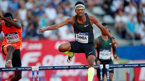 Abderrahman Samba, 22, rikkoi 47 sekunnin haamurajan vasta toisena juoksijana historiassa.