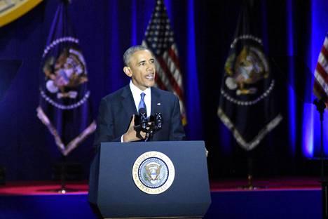 Barack Obaman puheita on kehuttu laajalti.