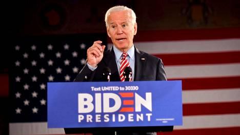 Joe Biden on johtanut toistaiseksi demokraattien presidenttikisaa.
