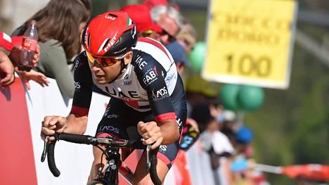 Kroatialaista pyöräilijää Kristijan Durasekia epäillään veridopingista.