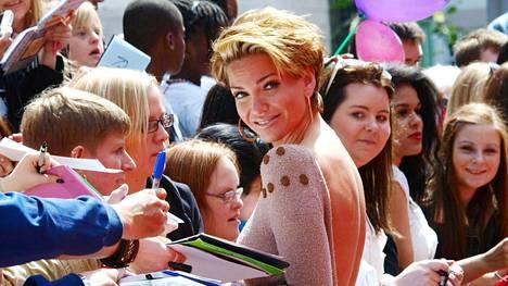Sarah Harding kuvattuna heinäkuussa 2011.