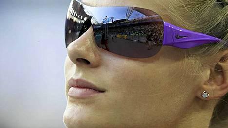 IS Urheilun lukijat äänestivät venäläisen pituushyppääjä Daria Klishinan yleisurheilun MM-kisojen seksikkäimmäksi naisurheilijaksi.