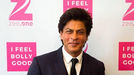 Shah Rukh Khan kuvattiin intialaisen Zee-kaapelikanavan lehdistötilaisuudessa Saksan Münchenissa heinäkuussa.