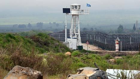 Vartiotorni Golanin kukkuloilla.
