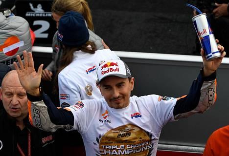 Jorge Lorenzon menestyksekäs ura loppui sunnuntaina.