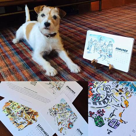 Tähkä-koira on syntynyt Tallitontun kennelissä Nurmijärvellä. Taiteilija Clym Evernden ikuisti Tähkän The Carlylen kalenteriin. Tähkä esiintyi myös elokuvassa 'Always at The Carlyle' (2018).