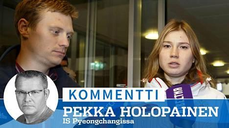 Pikaluistelijat Artem Kuznetsov ja Olga Fatkulina kuuluivat 47 urheilijan joukkoon, jota Kansainvälinen olympiakomitea ei kelpuuttanut kisoihinsa.