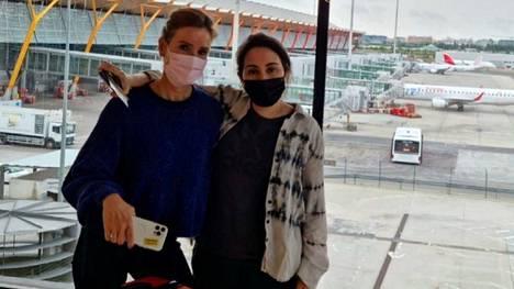 Prinsessa Latifasta (oik.) julkaistiin kesäkuussa kuva, jossa hän on Madridin lentokentällä.