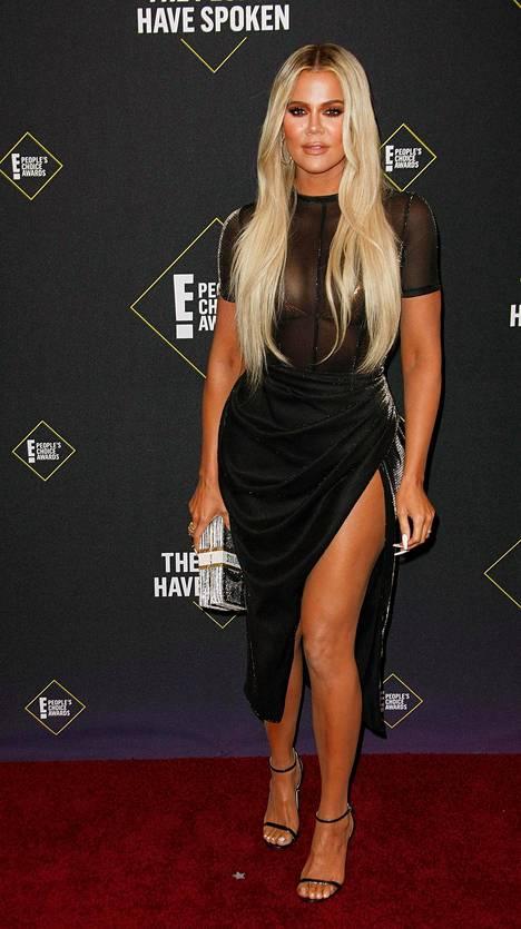 Khloé Kardashian kuvattuna marraskuussa 2019.