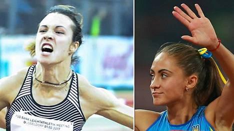 Olesya Povkh ja Olha Zemlyak eivät juokse Lontoon MM-kisoissa.